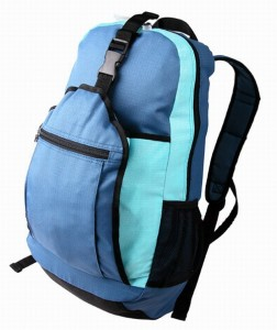Backpack bag used for a backpacking trip