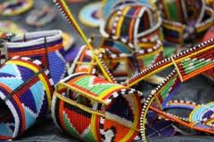 Bead work -Safari and Kenya Souvenirs