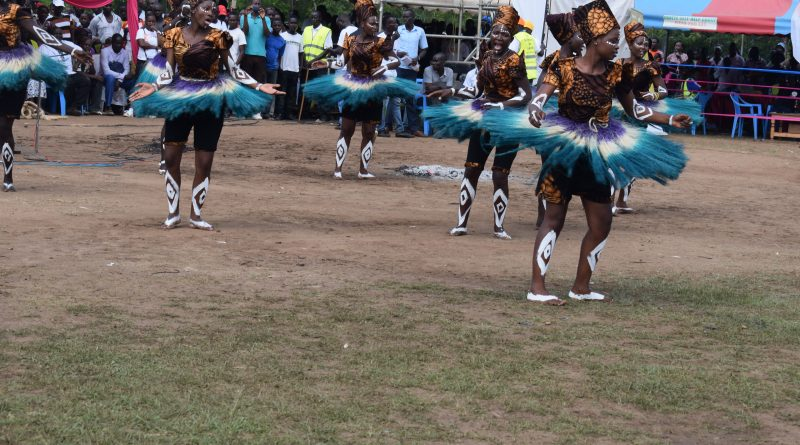 The cultural dances of Rusinga Festival