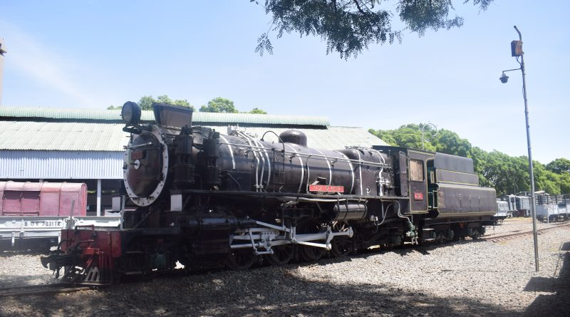 Maasai of Kenya -Train at the Railway Musem